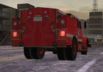 MC2 1988 International 4000-Series Fire Truck Rear
