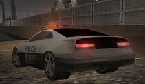 MC2 1998 Nissan 300ZX Police Rear