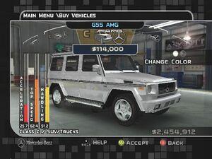 MC3 DUB Edition Mercedes-Benz G55 AMG