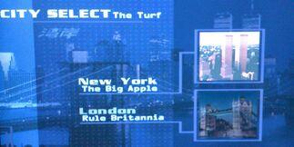 New York City & London