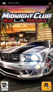 Midnight Club Los Angeles Remix Coverart