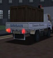 MCSR Nissan Cabstar Rear