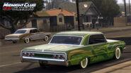 MCLA Chevrolet Impala Lowrider Rear