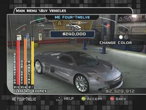 MC3 DUB Edition Chrysler Me-Four-Twelve