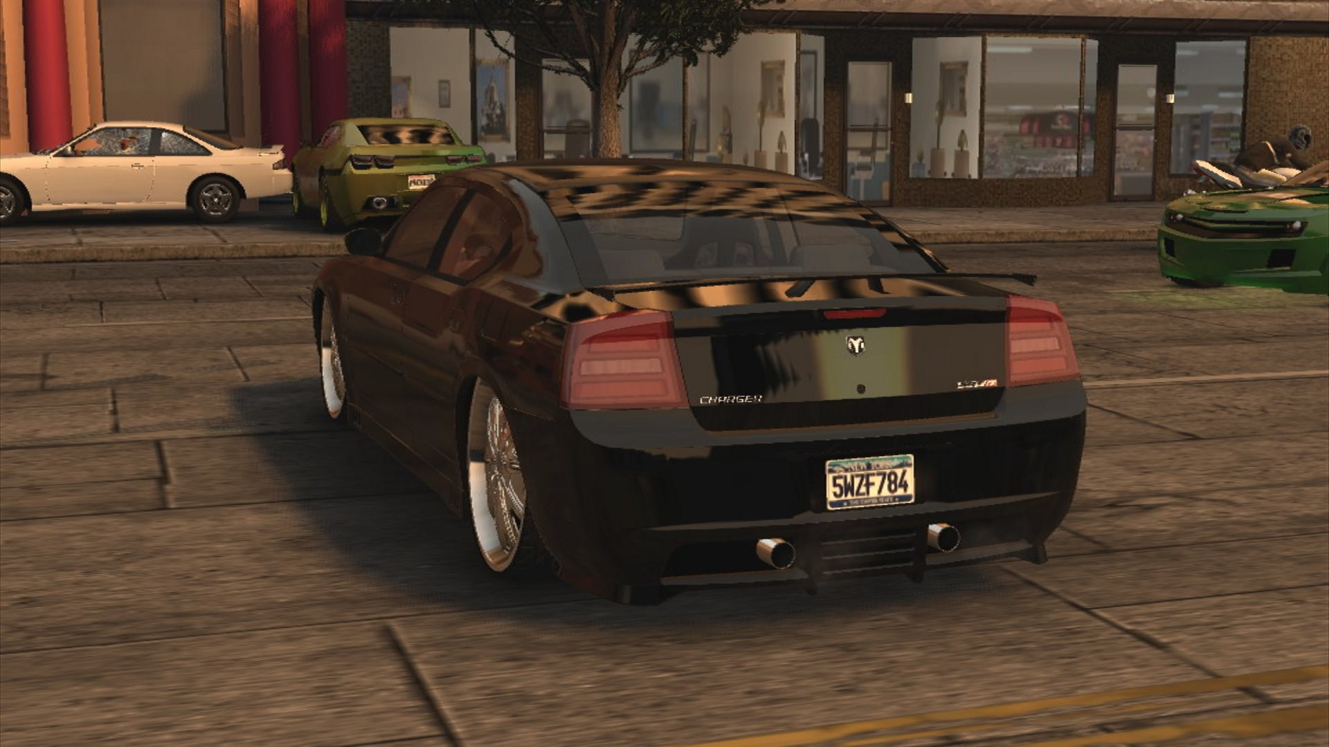 A Dodge Charger in Midnight Club Los Angeles
