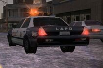 MC2 1988 Ford Crown Victoria Police Rear