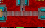 209493-operation-carnage-dos-screenshot-choosing-one-of-two-exits