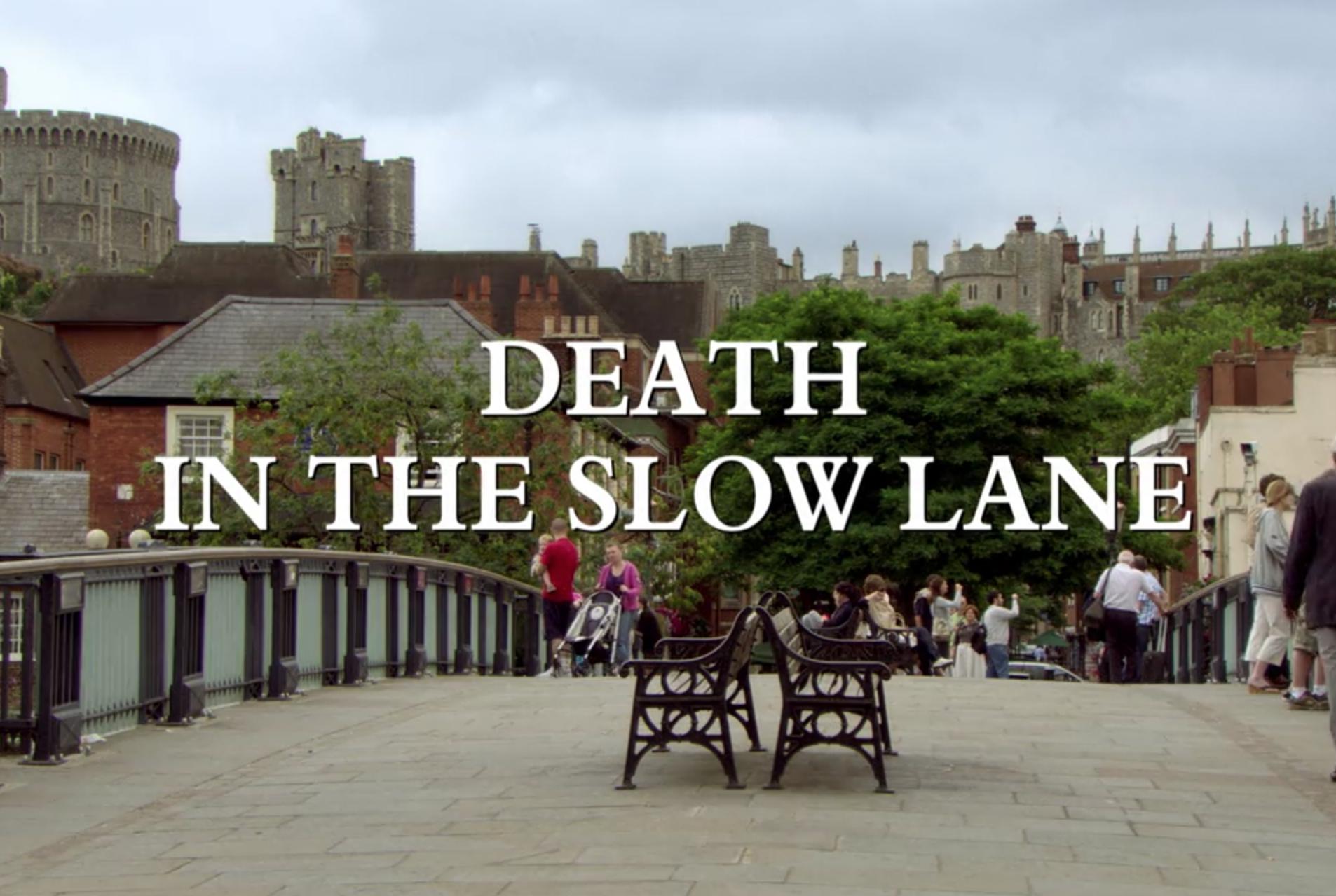 death in the slow lane | midsomer murders wiki | fandom poweredwikia