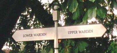 Lower-upper-warden-sign
