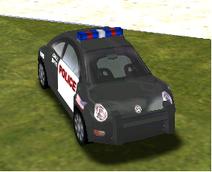 VW New Beetle (SFPD)