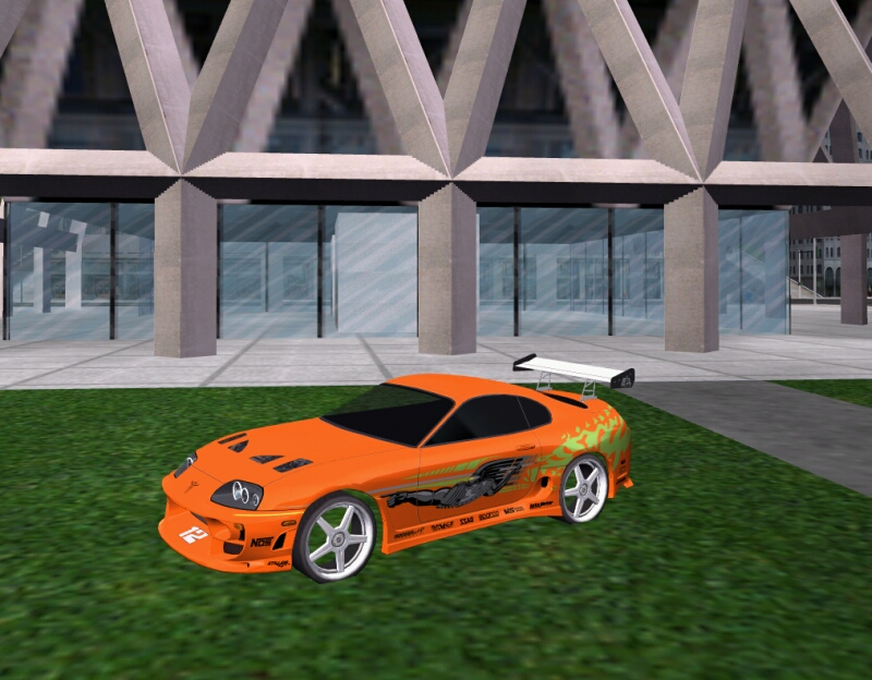 Fast And Furious Toyota Supra