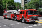 Portland Fire & Rescue ladder truck 4 in 2013