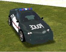 Aston Martin DB7 Vantage (SFPD)