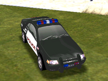 Ford Mustang Cruiser (SFPD)