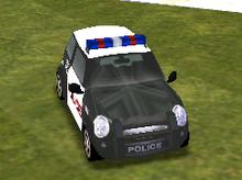 New Mini Cooper (SFPD)