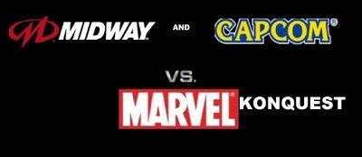 Midway and capcom vs marvel konquest