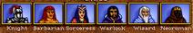 Heroes II Factions