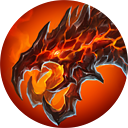 Abyssal worm icon