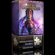 Steam puzzle: Gazal deck