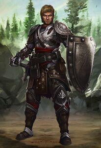 Mercenary male