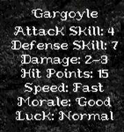 GargoyleH1 Attributes