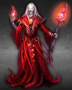 Dark Prophet male artwork Heroes VI
