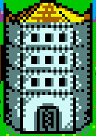 Mage guild level 4 Castle Heroes II Game Boy