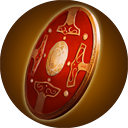 Flamegold Shield