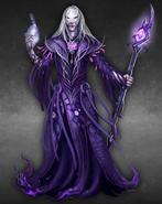 Sorcerer male artwork Heroes VI