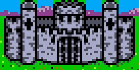 Castle Castle Heroes II Game Boy
