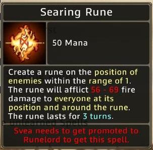 Runepriest-searing rune