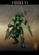 Skeletal spearman H6 artwork