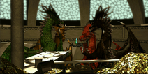 The protectors of the Vial of Dragon Blood
