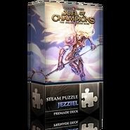 Steam puzzle: Jezziel deck