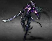 Darkblade female artwork Heroes VI
