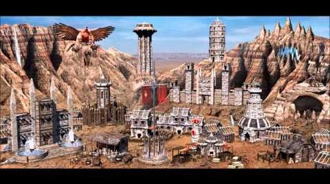 Heroes of Might & Magic III Stronghold Town Theme (1998 NWC) Animated