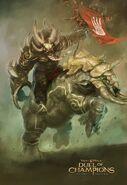 Acamas, Champion of the Bloodhorn