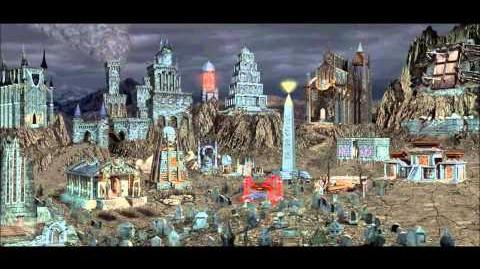 Heroes of Might & Magic III Necropolis Town Theme (1998 NWC) Animated