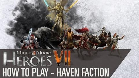 Might & Magic Heroes VII - How to play Haven Faction