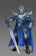 Knight male artwork Heroes VI