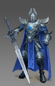 Knight male artwork Heroes VI