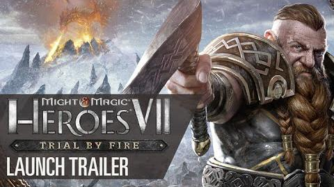 Might & Magic Heroes VII- Trial by Fire - Launch Trailer