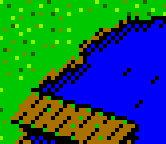 Shipyard Castle Heroes II Game Boy