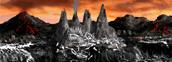 Dragon graveyard Necropolis Heroes IV