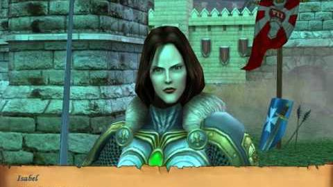 Heroes of Might and Magic V C6M4D4 Raelag confesses he loves Isabel