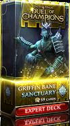 Griffin Bane: Sanctuary expert deck