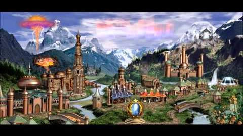 Heroes of Might & Magic III Conflux Town Theme (1998 NWC) Animated