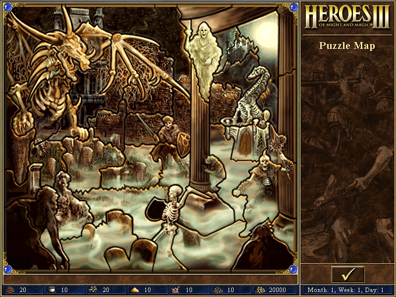 Puzzle Map Might And Magic Wiki Fandom Powered By Wikia