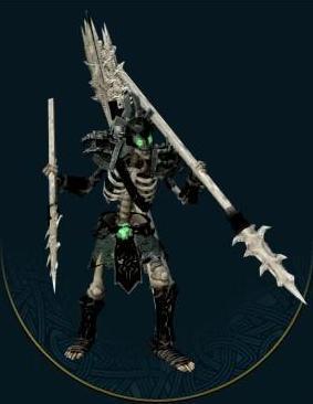 Skeletal spearman