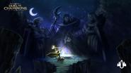 Night of the Rising Moon wallpaper
